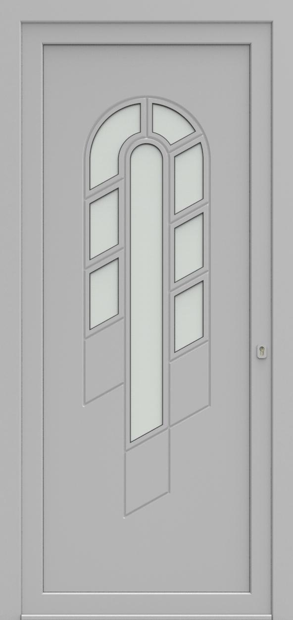 Porte d'entrée 95010S JUNIOR de la gamme Mondial posée par les établissements CELEREAU à Roncq