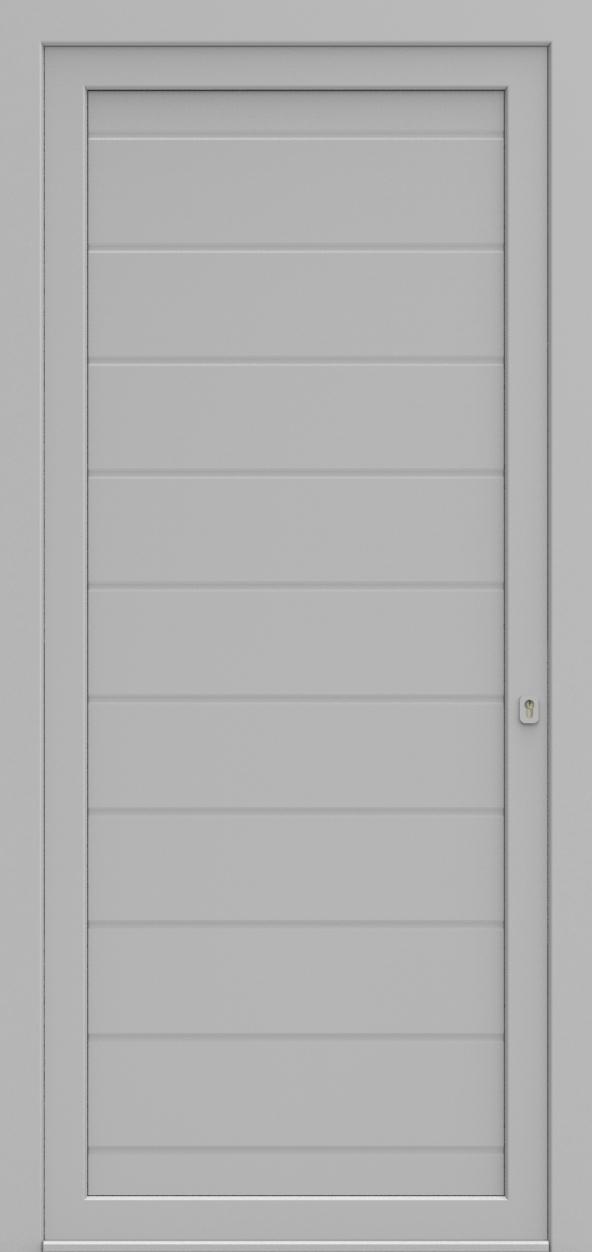 Porte d'entrée MO DESIGN H de la gamme Mondial posée par les établissements CELEREAU à Roncq