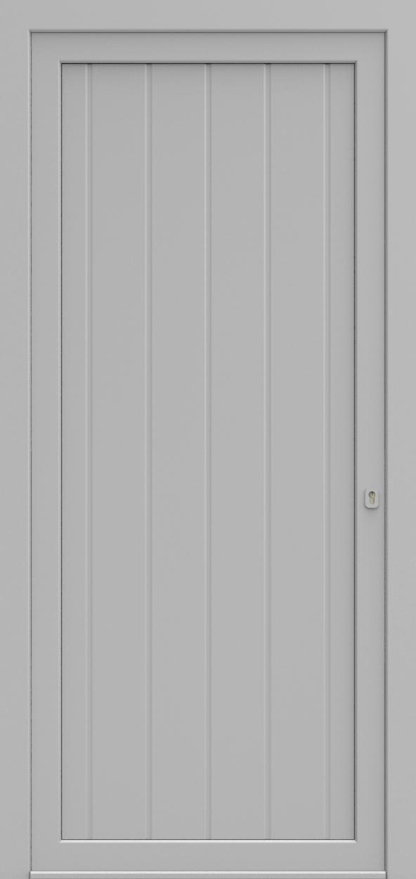 Porte d'entrée MO DESIGN I de la gamme Mondial posée par les établissements CELEREAU à Roncq