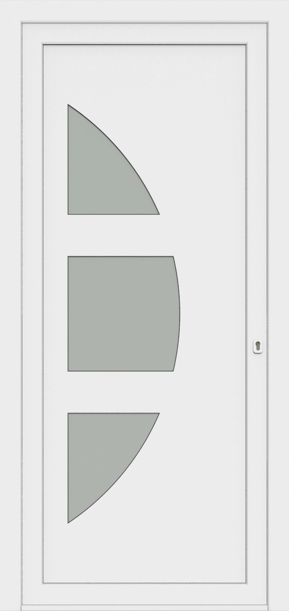 Porte d'entrée 25430 NARCA de la gamme Monty posée par les établissements CELEREAU à Roncq
