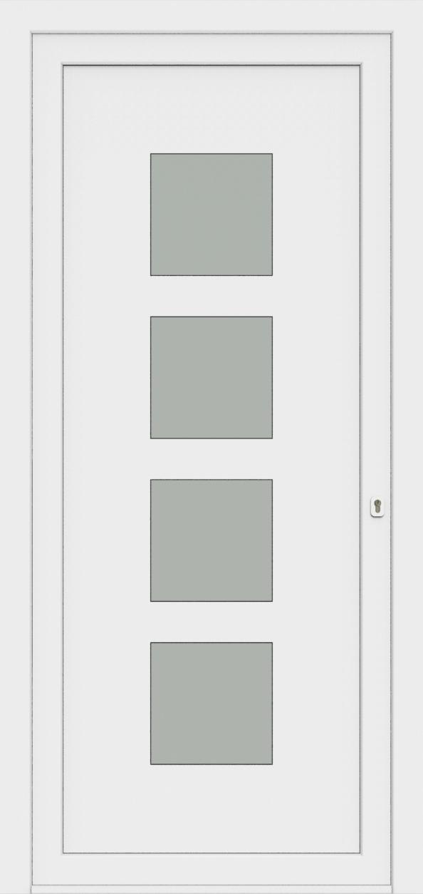 Porte d'entrée 25740 CLARA de la gamme Monty posée par les établissements CELEREAU à Roncq