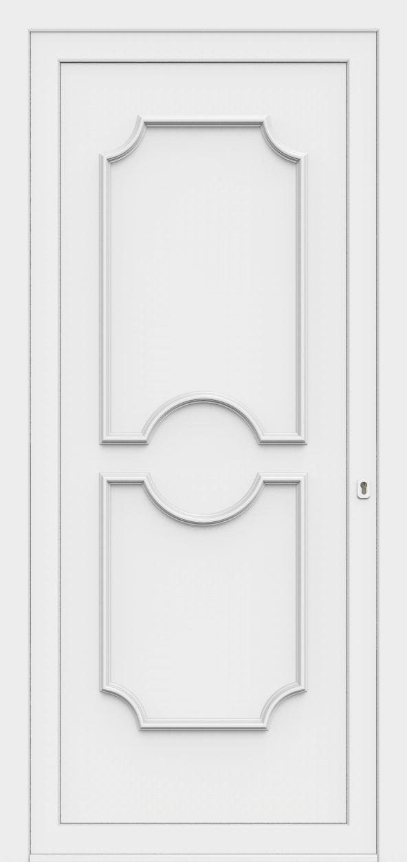 Porte d'entrée 50100 PETRA de la gamme Monty posée par les établissements CELEREAU à Roncq
