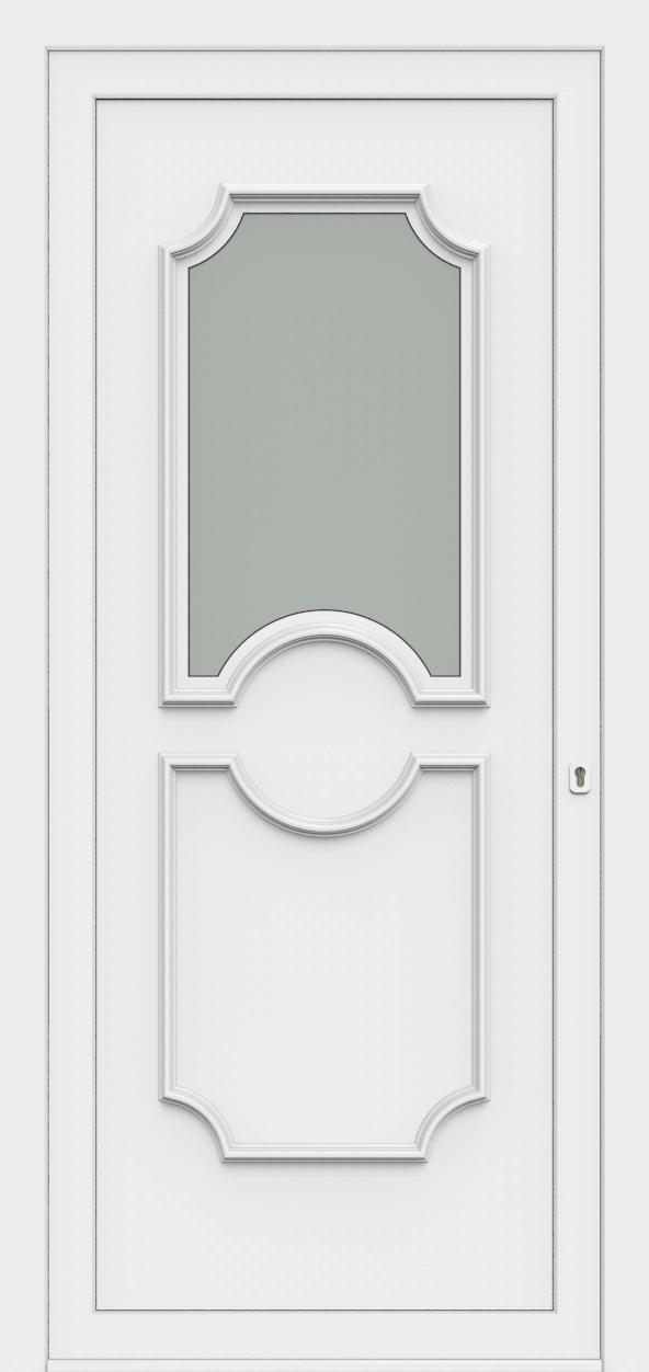 Porte d'entrée 50110 PETRA de la gamme Monty posée par les établissements CELEREAU à Roncq