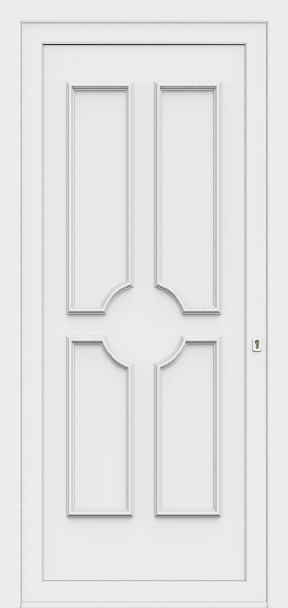 Porte d'entrée 50300 PAOLA de la gamme Monty posée par les établissements CELEREAU à Roncq