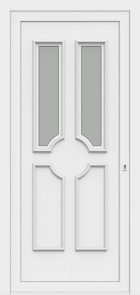 Porte d'entrée 50320 PAOLA de la gamme Monty posée par les établissements CELEREAU à Roncq