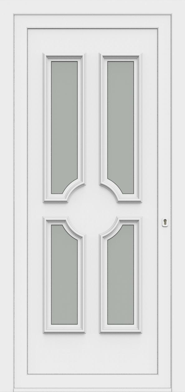 Porte d'entrée 50340 PAOLA de la gamme Monty posée par les établissements CELEREAU à Roncq