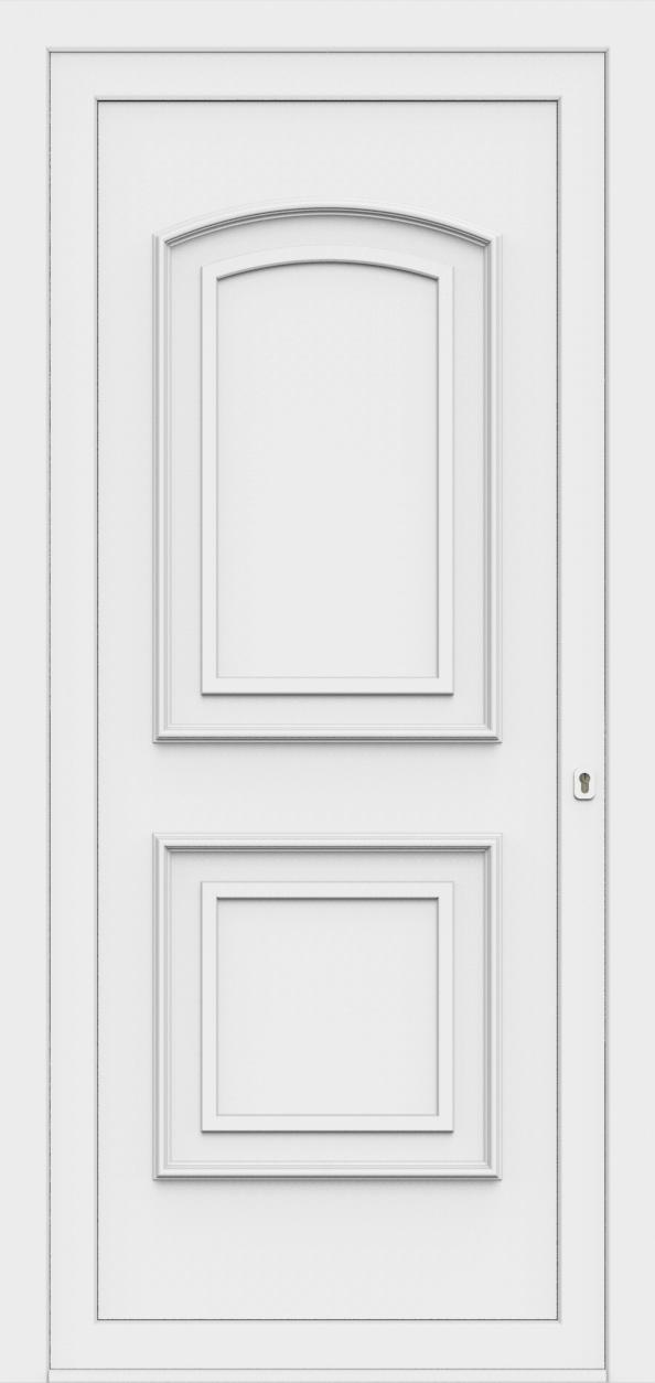 Porte d'entrée 50400 TINA de la gamme Monty posée par les établissements CELEREAU à Roncq