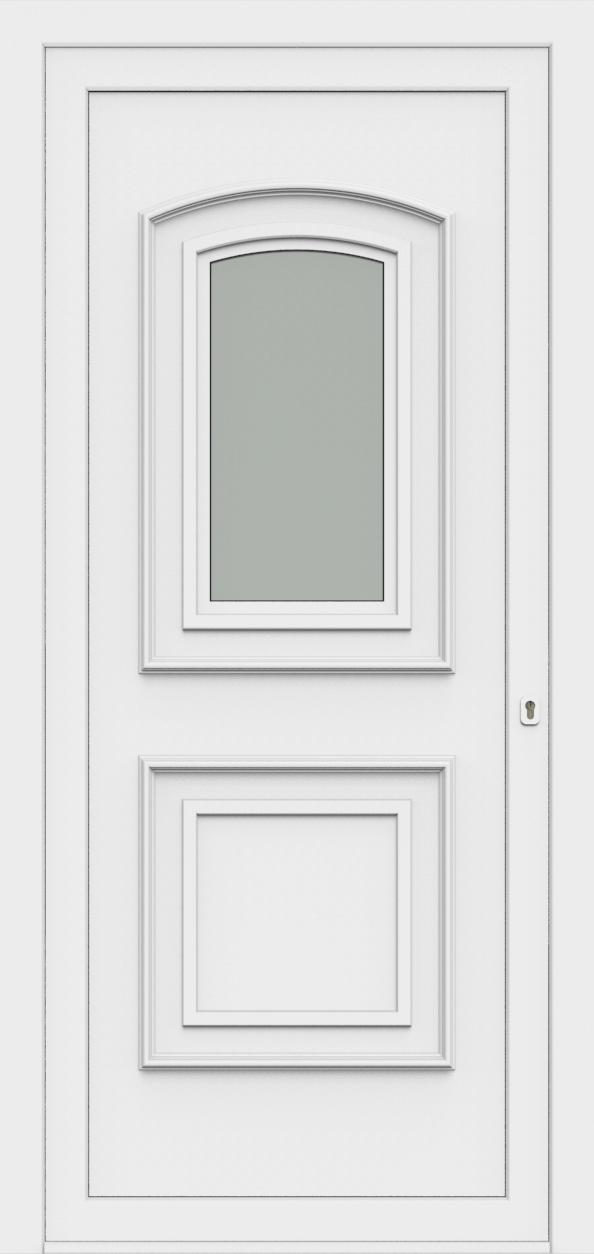 Porte d'entrée 50410 TINA de la gamme Monty posée par les établissements CELEREAU à Roncq