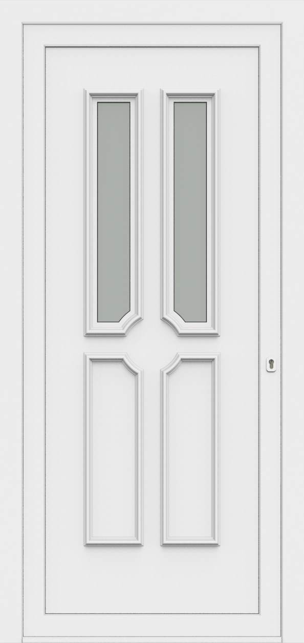 Porte d'entrée 55320 PAOLA de la gamme Monty posée par les établissements CELEREAU à Roncq