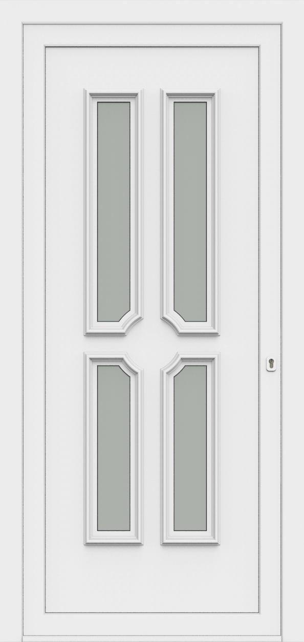 Porte d'entrée 55340 PAOLA de la gamme Monty posée par les établissements CELEREAU à Roncq