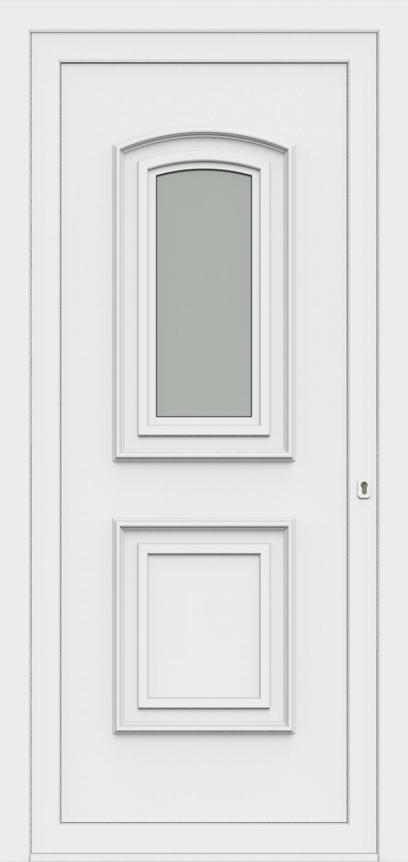 Porte d'entrée 55410 TINA de la gamme Monty posée par les établissements CELEREAU à Roncq