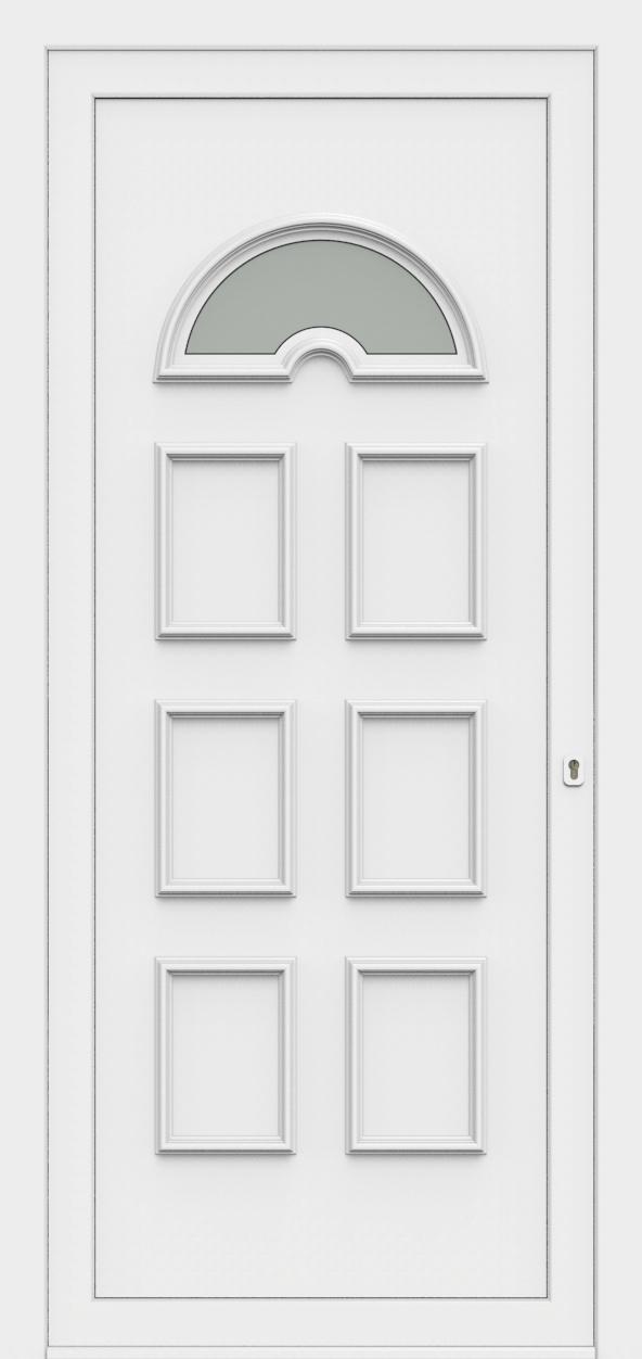 Porte d'entrée 60310 RIA de la gamme Monty posée par les établissements CELEREAU à Roncq