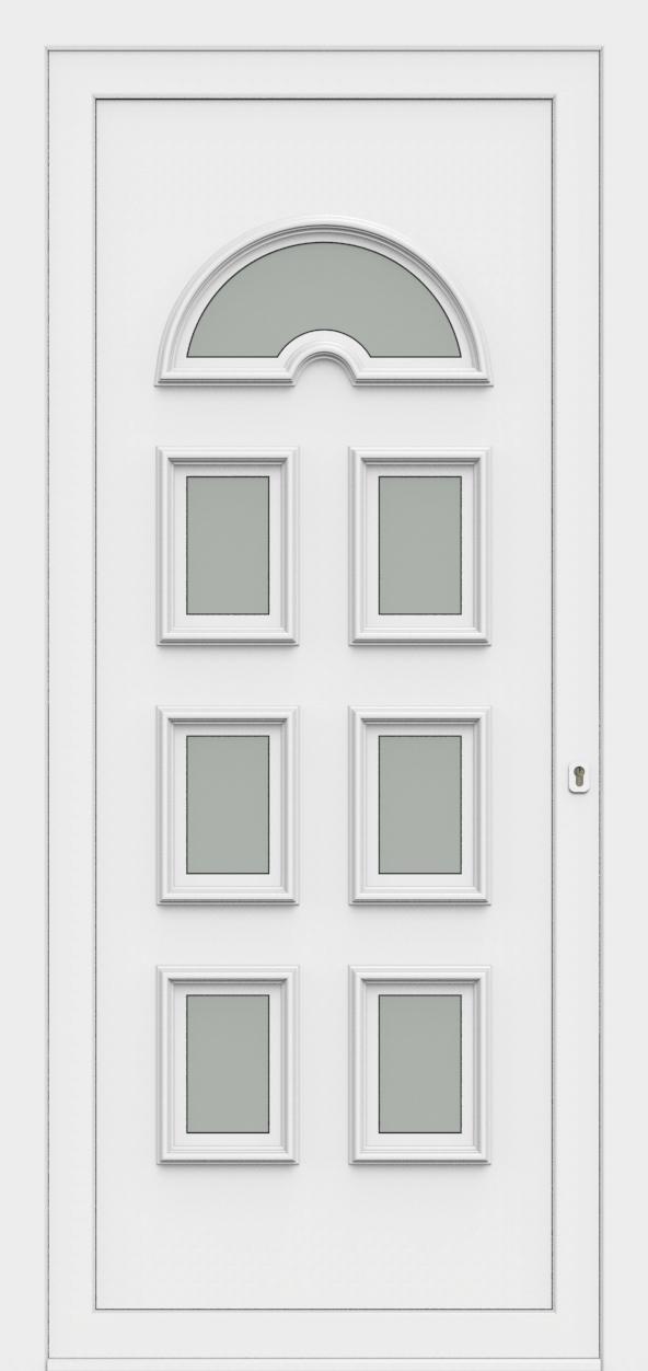 Porte d'entrée 60370 RIA de la gamme Monty posée par les établissements CELEREAU à Roncq