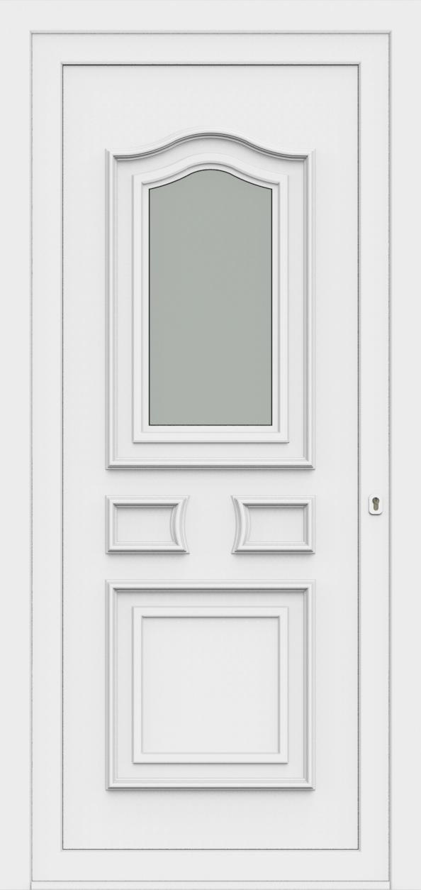Porte d'entrée 60510 SOFIA de la gamme Monty posée par les établissements CELEREAU à Roncq