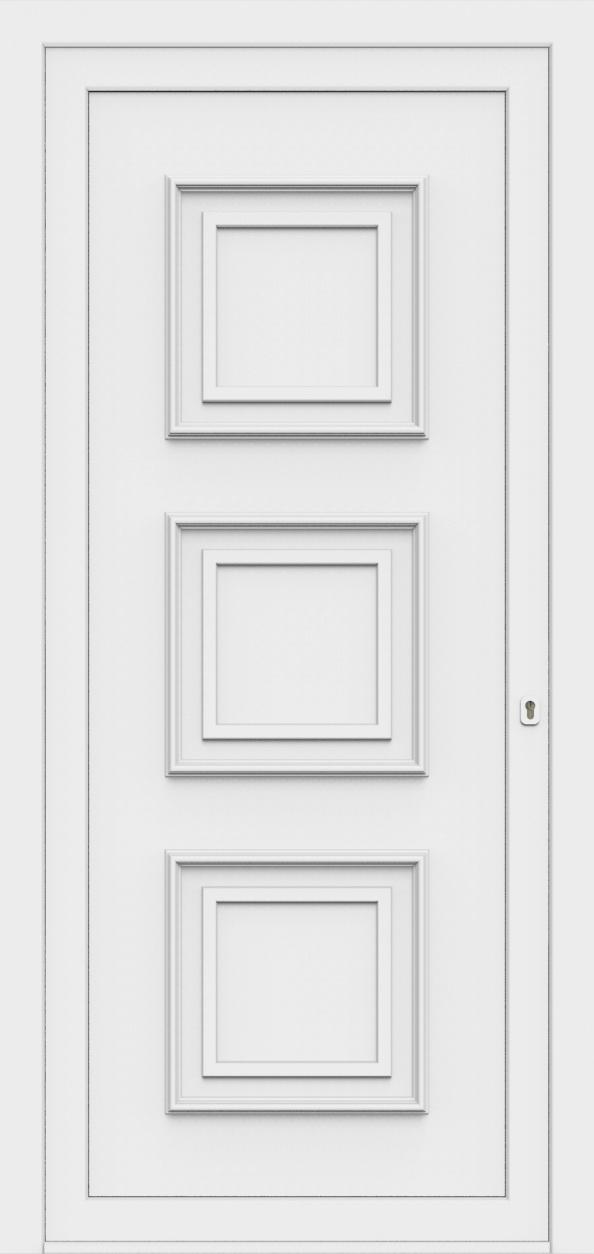 Porte d'entrée 60600 NEVADA de la gamme Monty posée par les établissements CELEREAU à Roncq