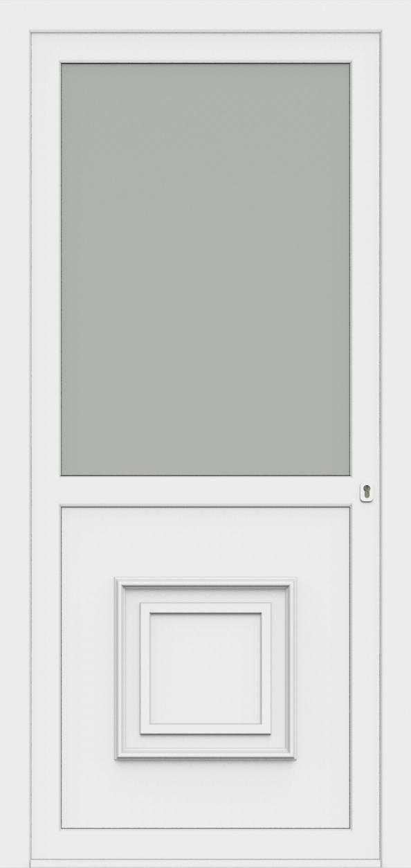 Porte d'entrée 607 OND de la gamme Monty posée par les établissements CELEREAU à Roncq