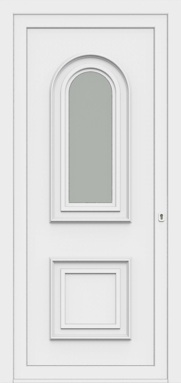 Porte d'entrée 60710 MAXIMA de la gamme Monty posée par les établissements CELEREAU à Roncq
