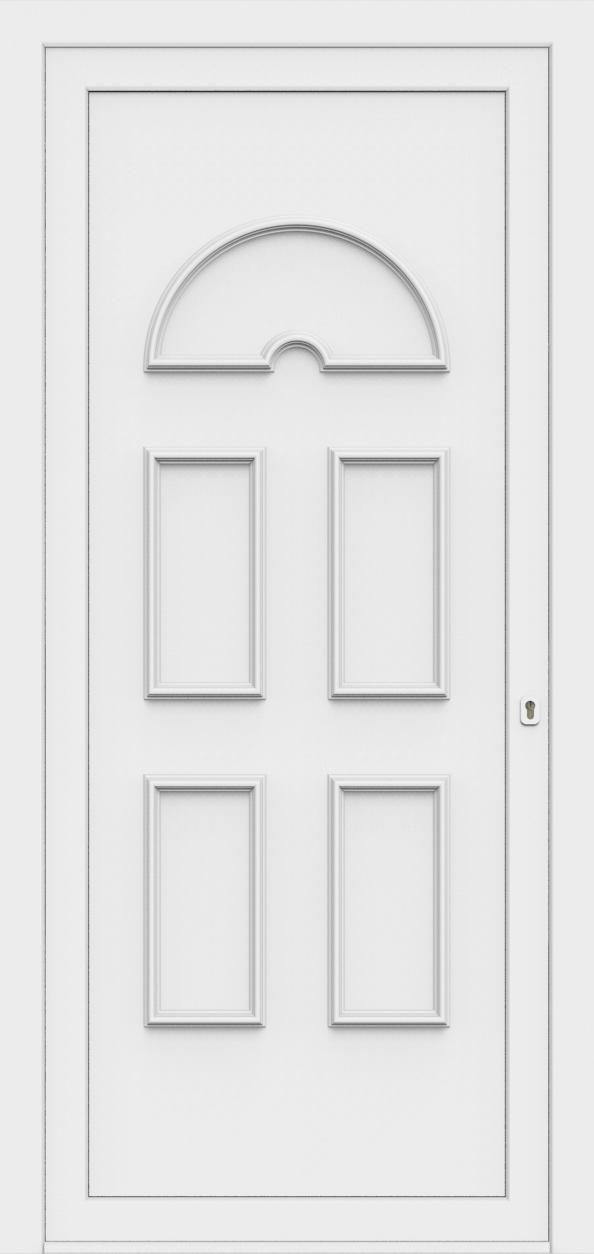 Porte d'entrée 60800 EVA de la gamme Monty posée par les établissements CELEREAU à Roncq
