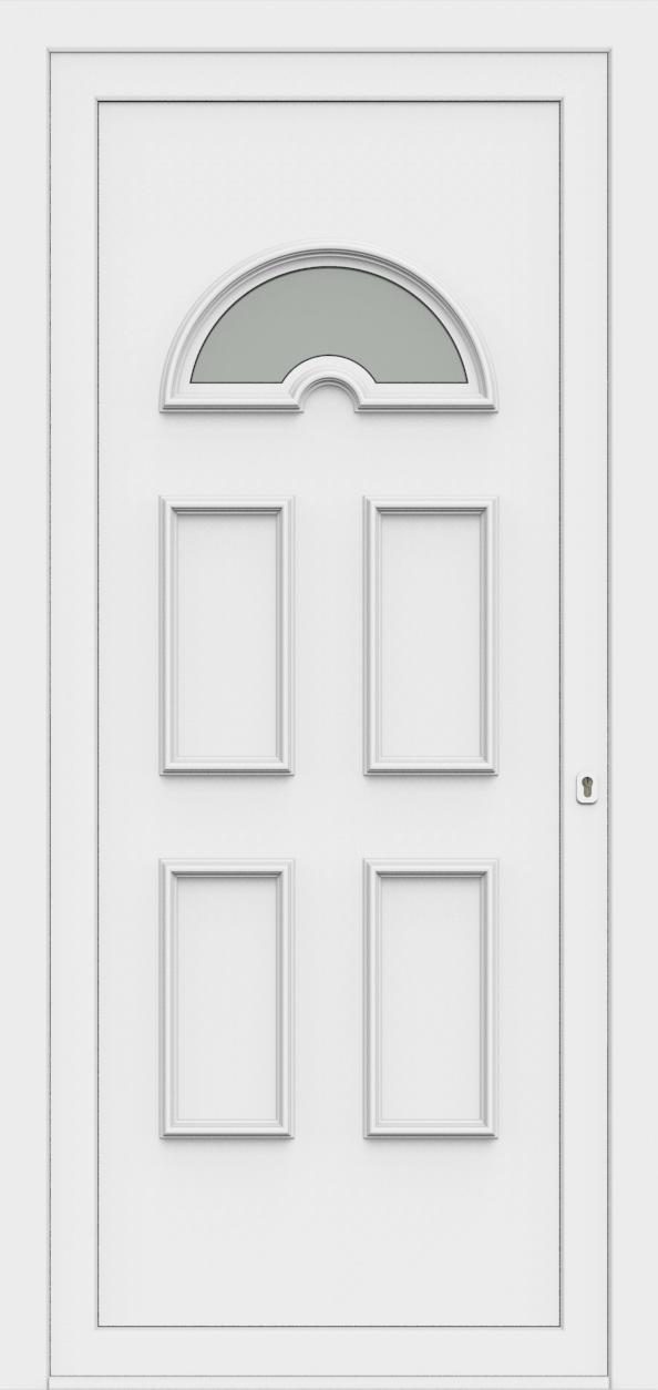 Porte d'entrée 60810 EVA de la gamme Monty posée par les établissements CELEREAU à Roncq