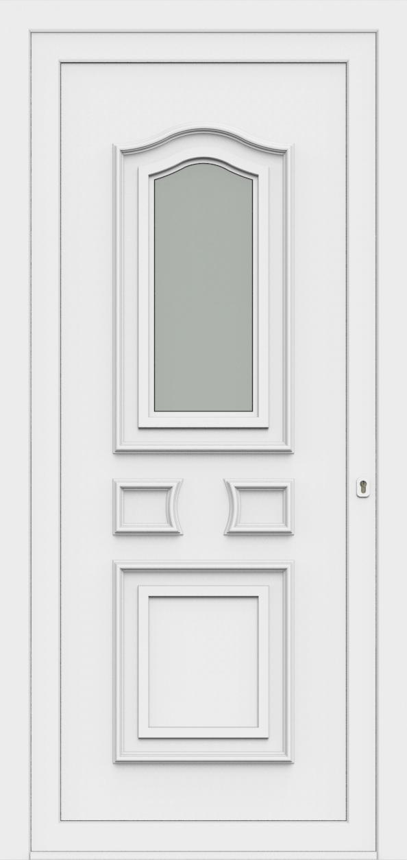 Porte d'entrée 65510 SOFIA de la gamme Monty posée par les établissements CELEREAU à Roncq