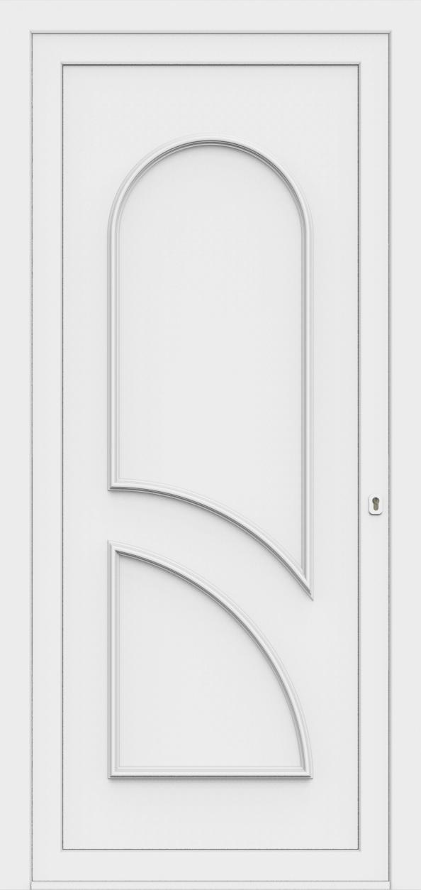 Porte d'entrée 70400 PAVONA de la gamme Monty posée par les établissements CELEREAU à Roncq