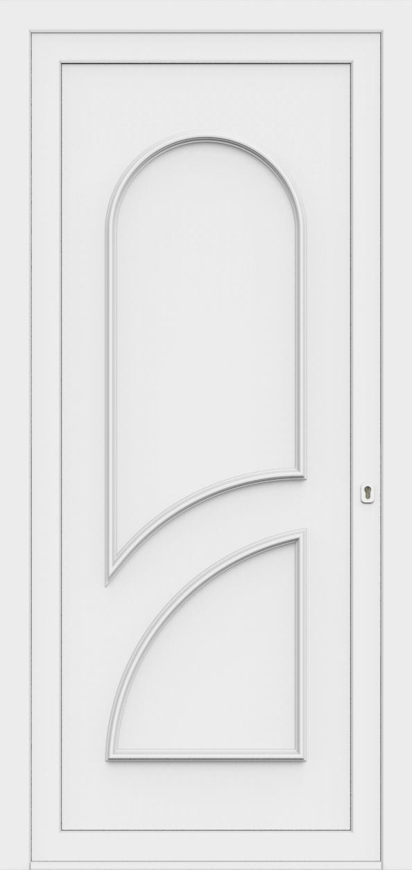 Porte d'entrée 70400S PAVONA de la gamme Monty posée par les établissements CELEREAU à Roncq