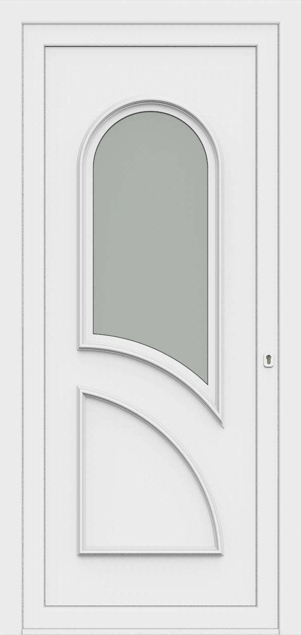 Porte d'entrée 70410 PAVONA de la gamme Monty posée par les établissements CELEREAU à Roncq