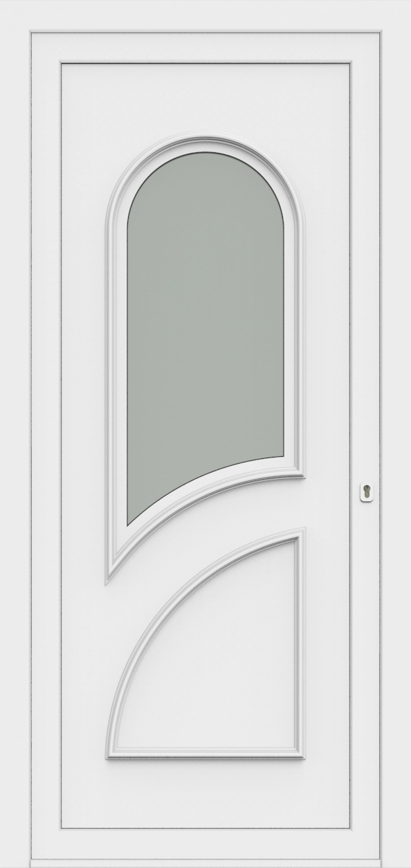 Porte d'entrée 70410S PAVONA de la gamme Monty posée par les établissements CELEREAU à Roncq
