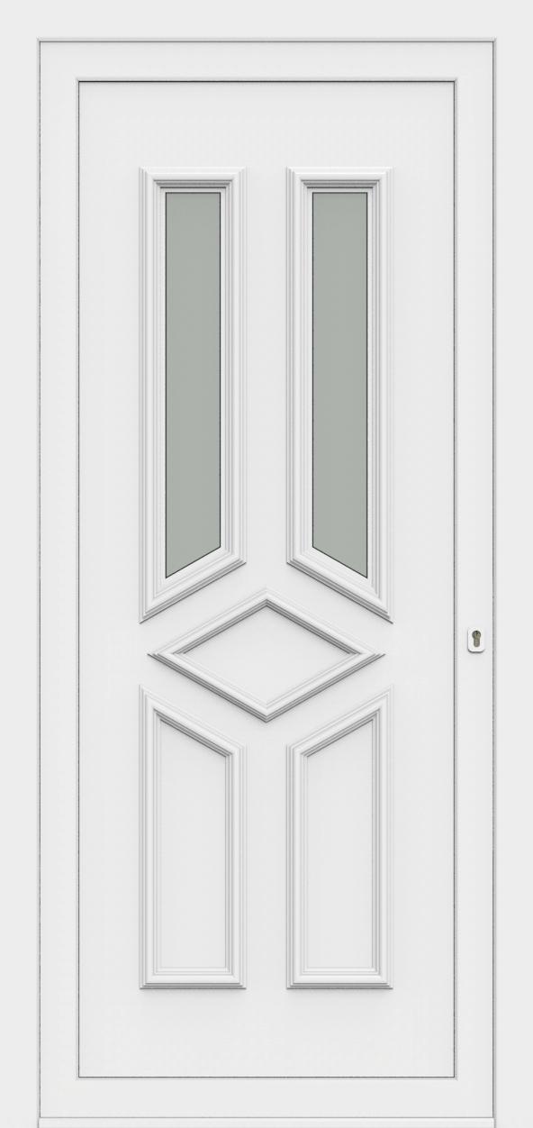 Porte d'entrée 70620 ATLANTA de la gamme Monty posée par les établissements CELEREAU à Roncq
