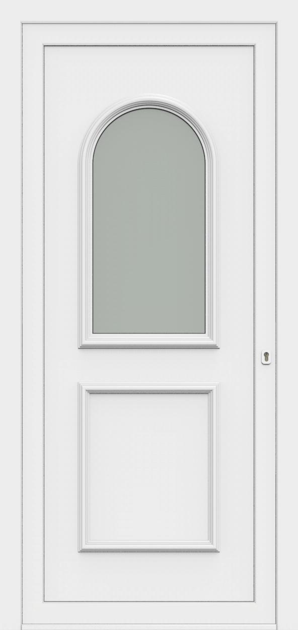 Porte d'entrée 70810 AZURA de la gamme Monty posée par les établissements CELEREAU à Roncq