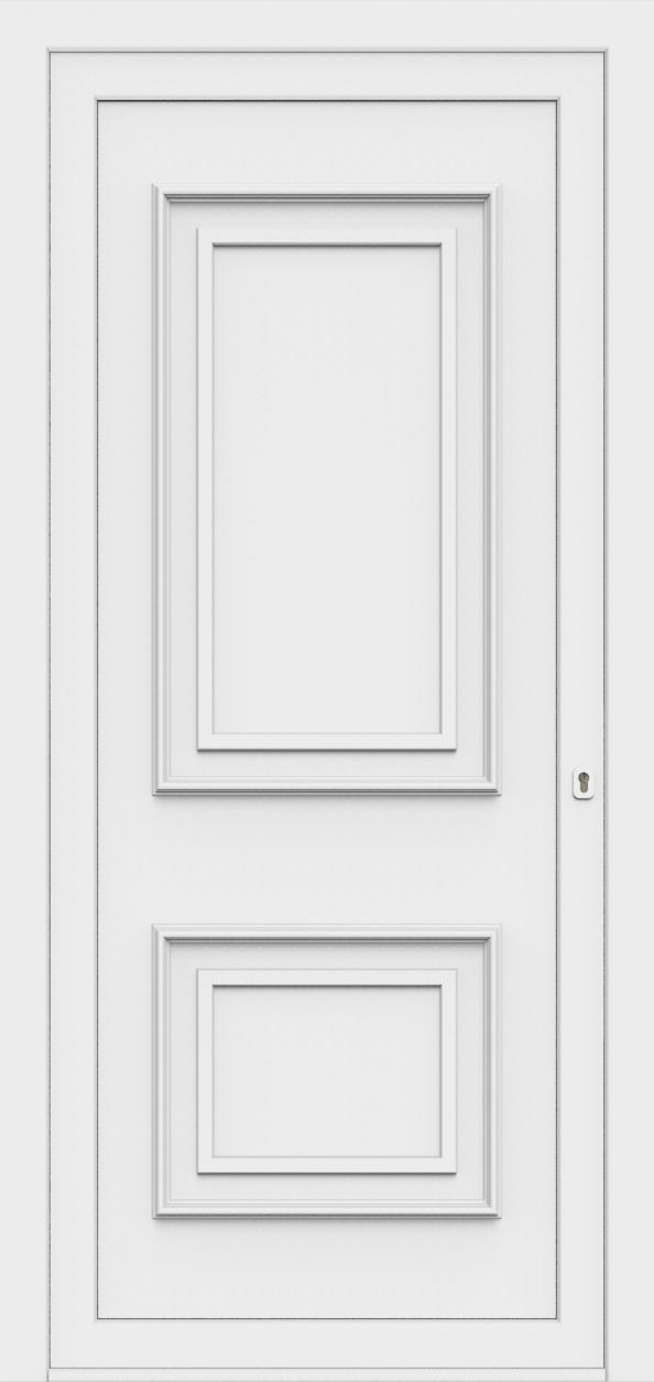 Porte d'entrée 80100 LUCA de la gamme Monty posée par les établissements CELEREAU à Roncq
