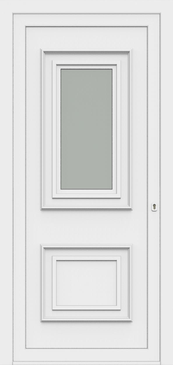 Porte d'entrée 80110 LUCA de la gamme Monty posée par les établissements CELEREAU à Roncq
