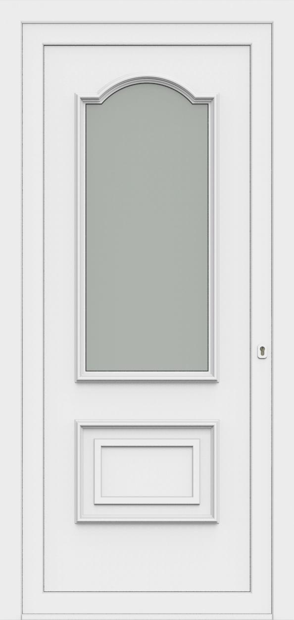 Porte d'entrée 80210 PLEYADA de la gamme Monty posée par les établissements CELEREAU à Roncq