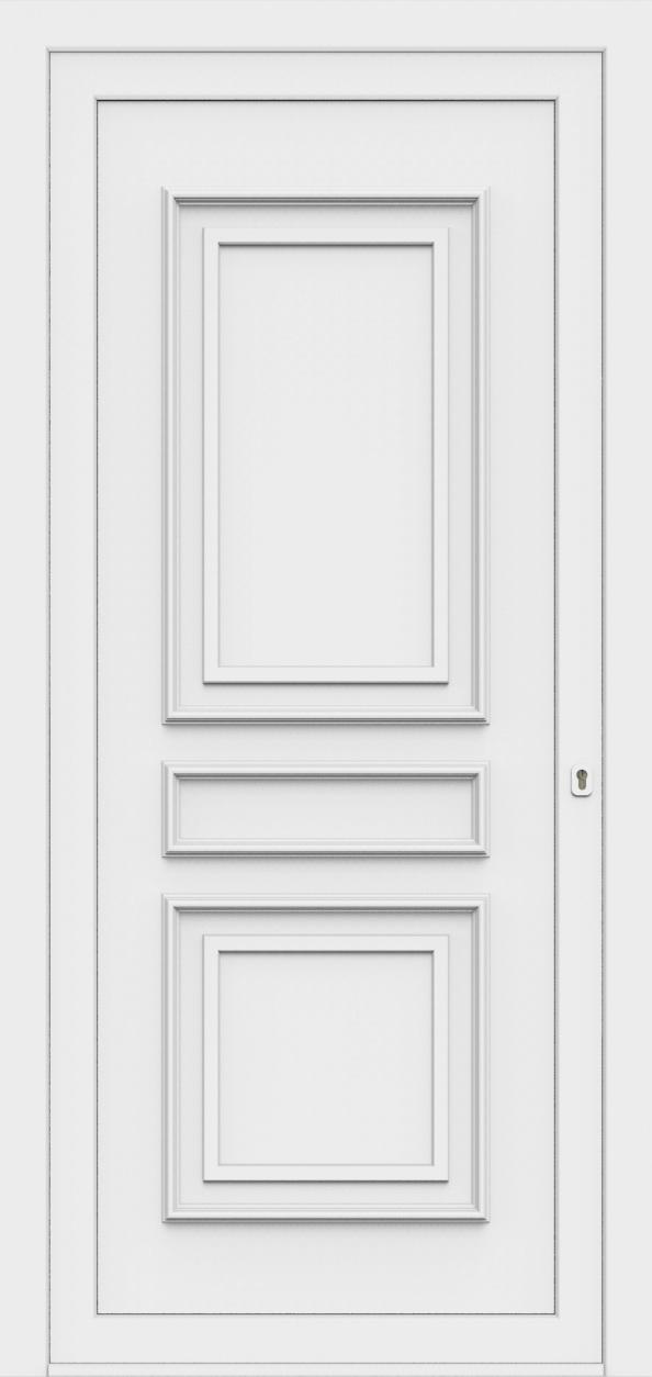 Porte d'entrée 80700 MATHILDA de la gamme Monty posée par les établissements CELEREAU à Roncq