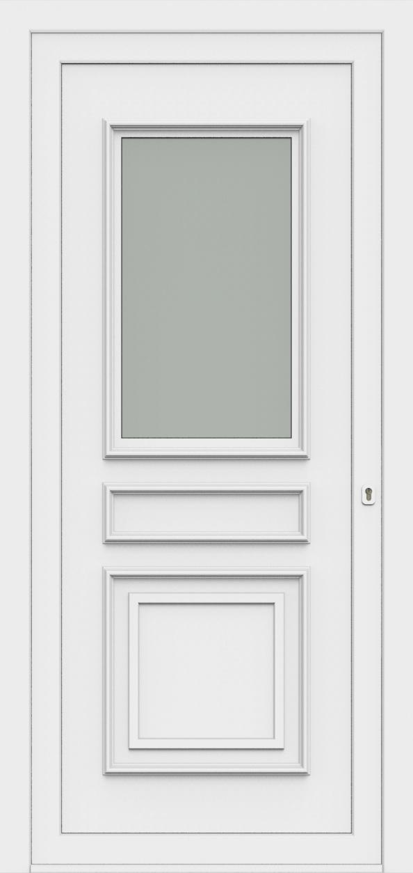 Porte d'entrée 80710 MATHILDA de la gamme Monty posée par les établissements CELEREAU à Roncq