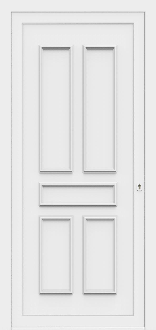 Porte d'entrée 80800 ELENA de la gamme Monty posée par les établissements CELEREAU à Roncq