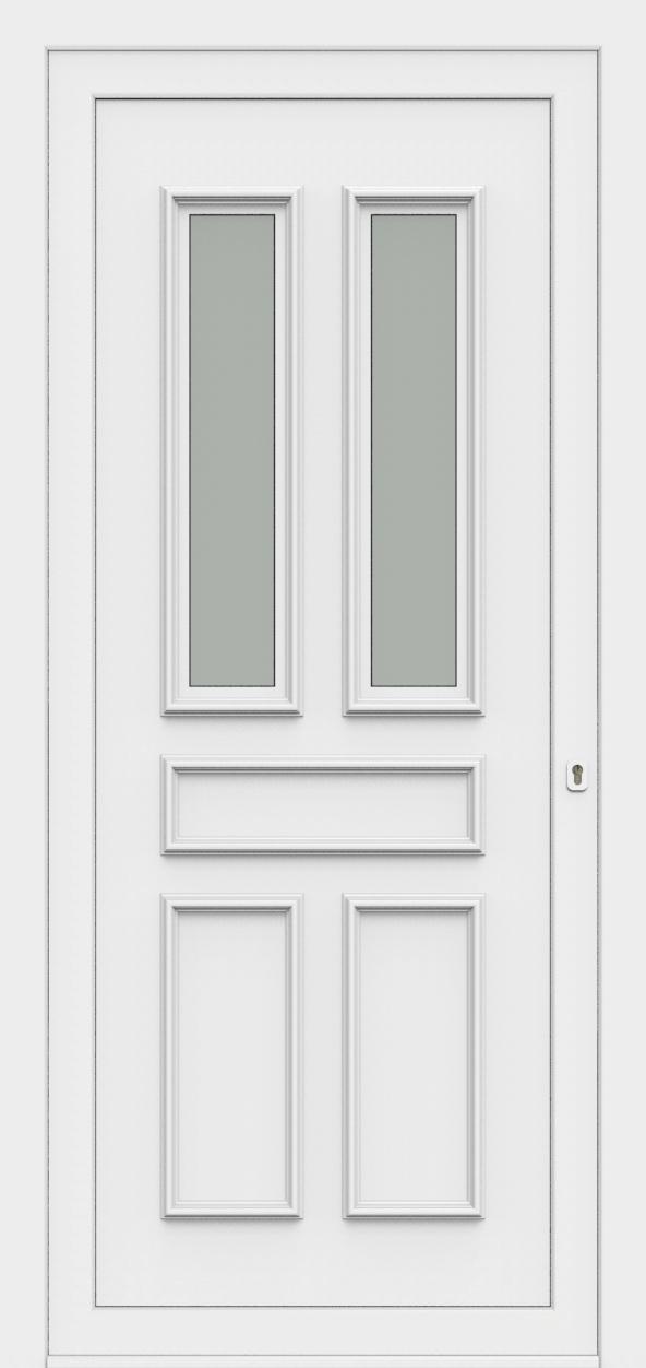 Porte d'entrée 80820 ELENA de la gamme Monty posée par les établissements CELEREAU à Roncq