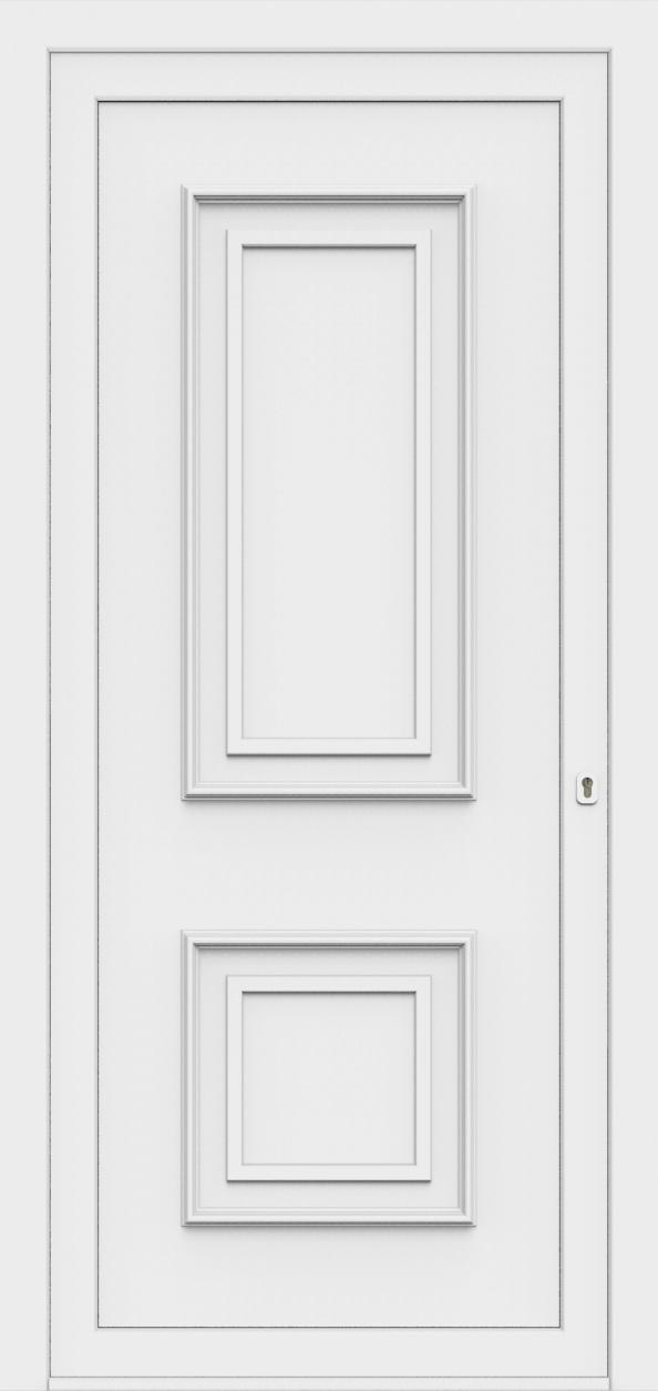 Porte d'entrée 85100 LUCA de la gamme Monty posée par les établissements CELEREAU à Roncq