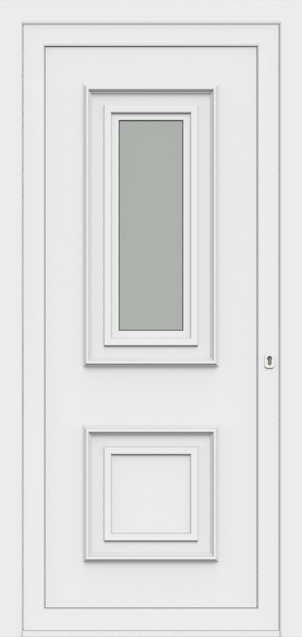 Porte d'entrée 85110 LUCA de la gamme Monty posée par les établissements CELEREAU à Roncq