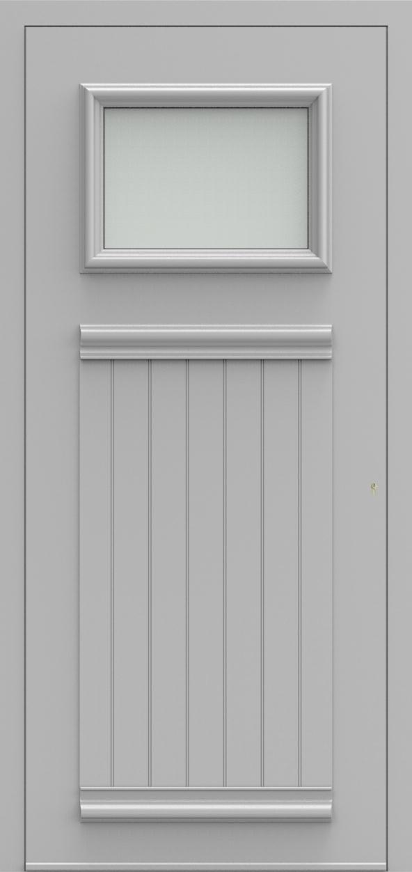 Porte d'entrée 101 B PR de la gamme Progress posée par les établissements CELEREAU à Roncq