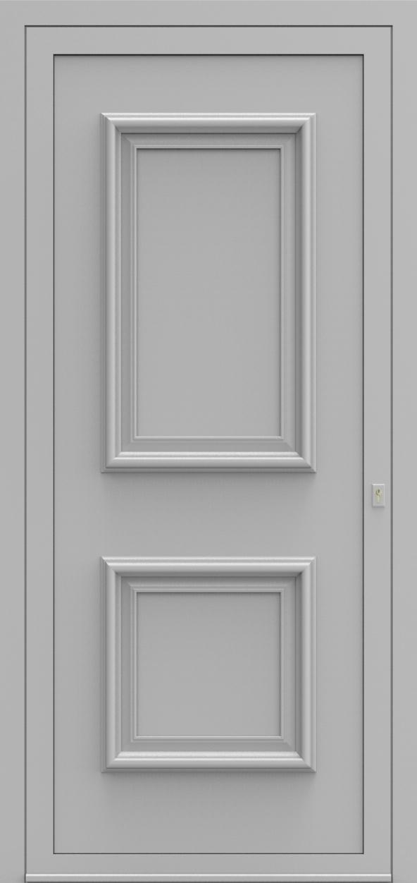 Porte d'entrée 10 A PR de la gamme Progress posée par les établissements CELEREAU à Roncq