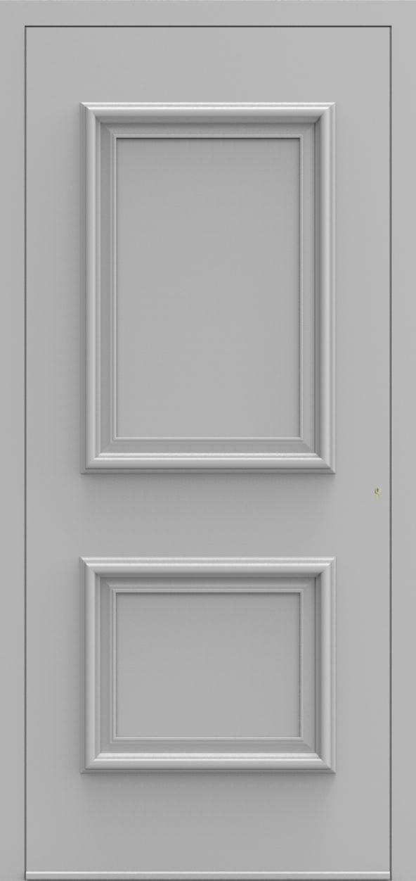 Porte d'entrée 10 B PR de la gamme Progress posée par les établissements CELEREAU à Roncq