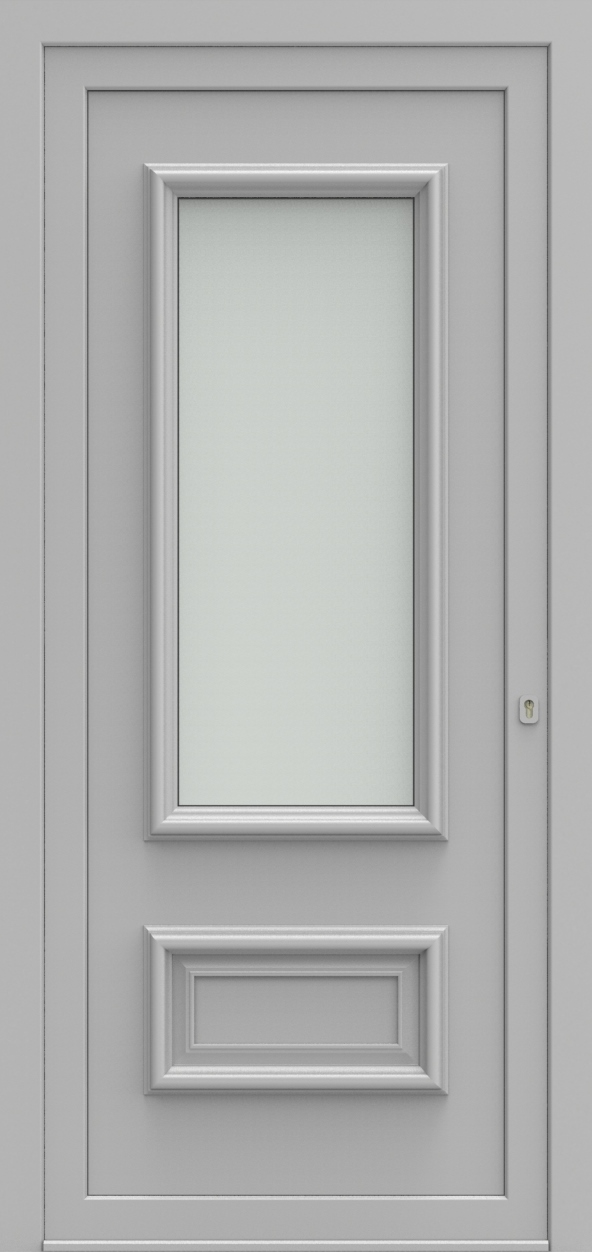 Porte d'entrée 11 B PR de la gamme Progress posée par les établissements CELEREAU à Roncq