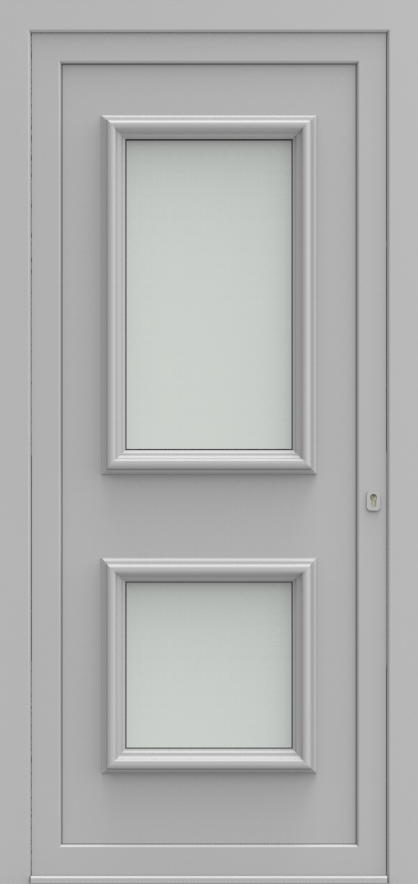 Porte d'entrée 12 A PR de la gamme Progress posée par les établissements CELEREAU à Roncq