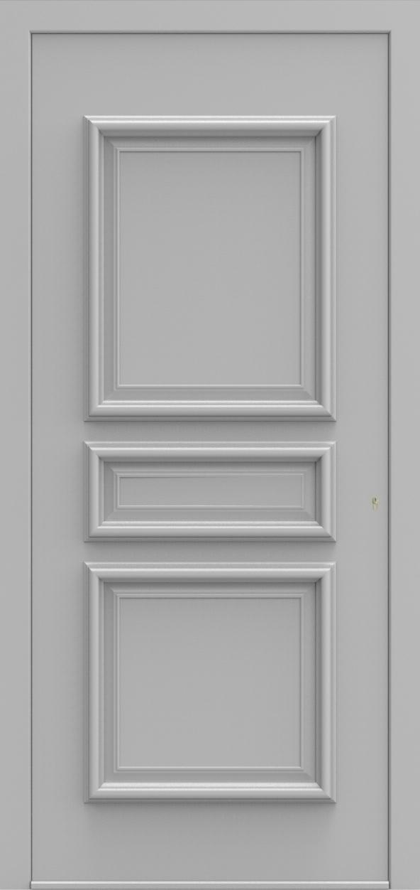 Porte d'entrée 20 B PR de la gamme Progress posée par les établissements CELEREAU à Roncq