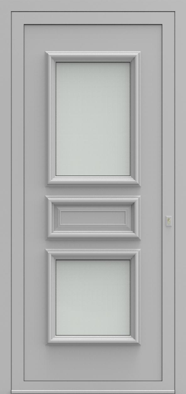 Porte d'entrée 22 A PR de la gamme Progress posée par les établissements CELEREAU à Roncq
