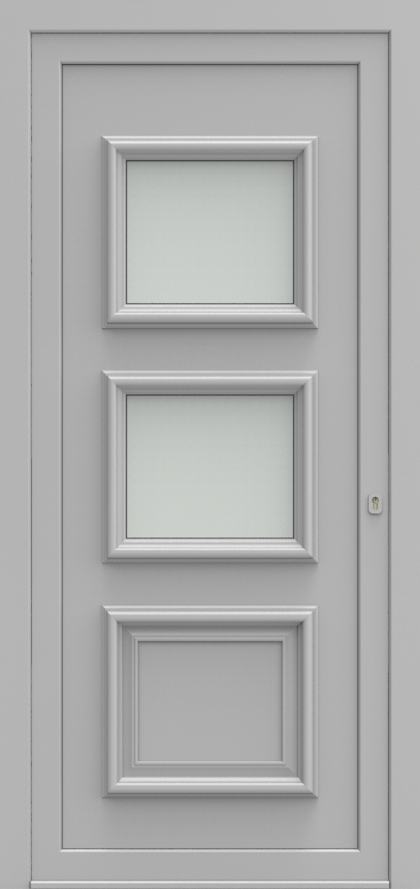 Porte d'entrée 32 A PR de la gamme Progress posée par les établissements CELEREAU à Roncq