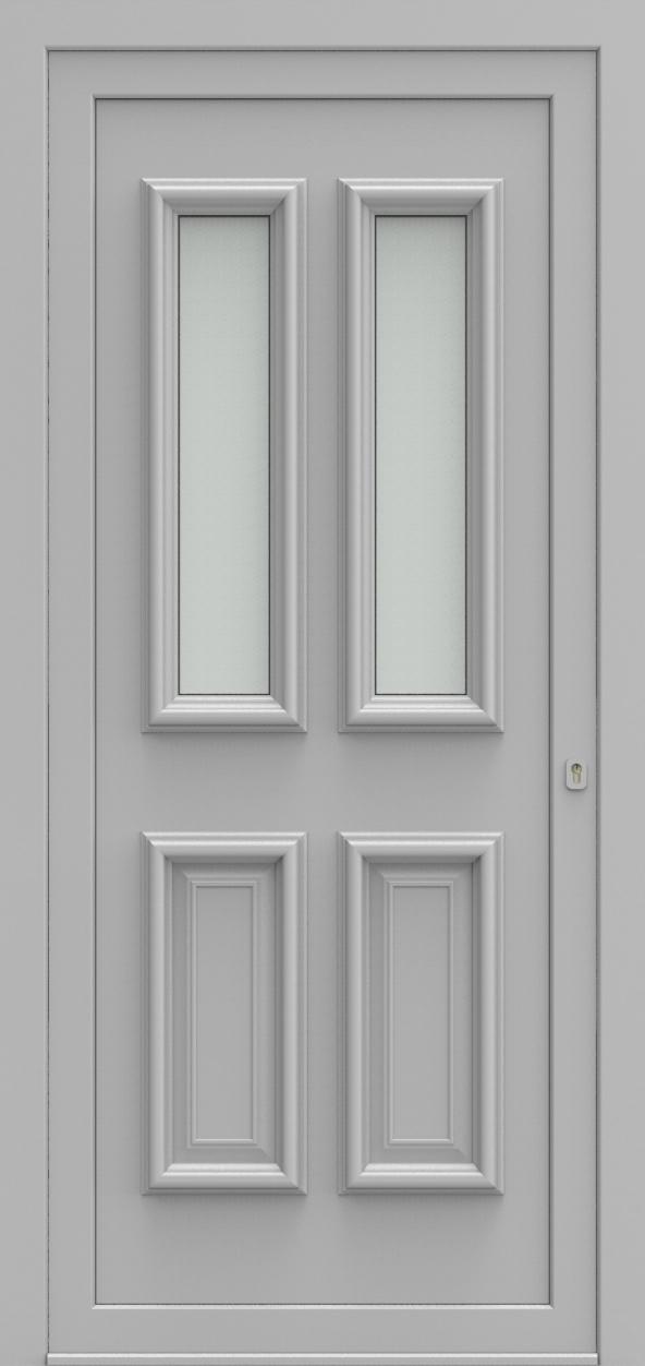 Porte d'entrée 42 A PR de la gamme Progress posée par les établissements CELEREAU à Roncq