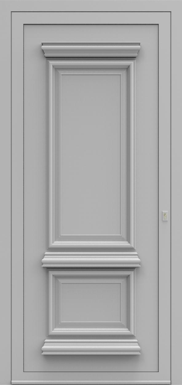 Porte d'entrée 70 PR de la gamme Progress posée par les établissements CELEREAU à Roncq