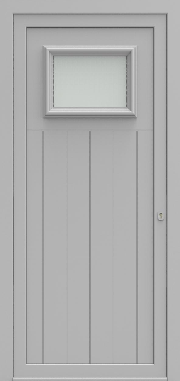 Porte d'entrée 91 B PR de la gamme Progress posée par les établissements CELEREAU à Roncq